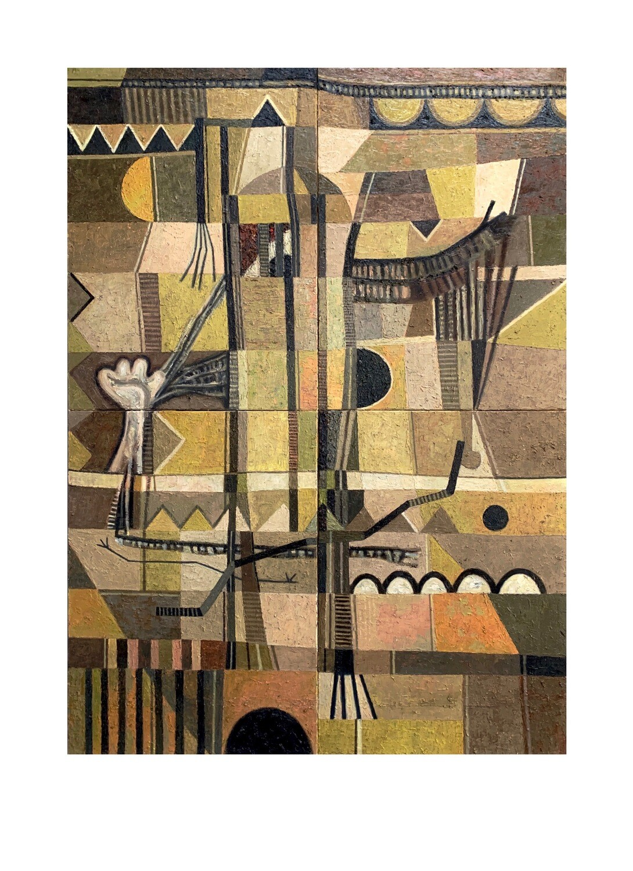'Crossroads No.2' Giclee print - 42x30cm (A3)