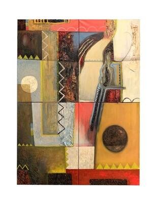 'Crossroads No.1' Giclee print - 42x30cm (A3)