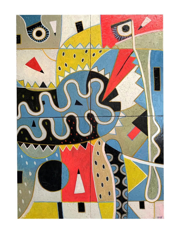 'Joy No.2'  Giclee print - 42x30cm (A3)