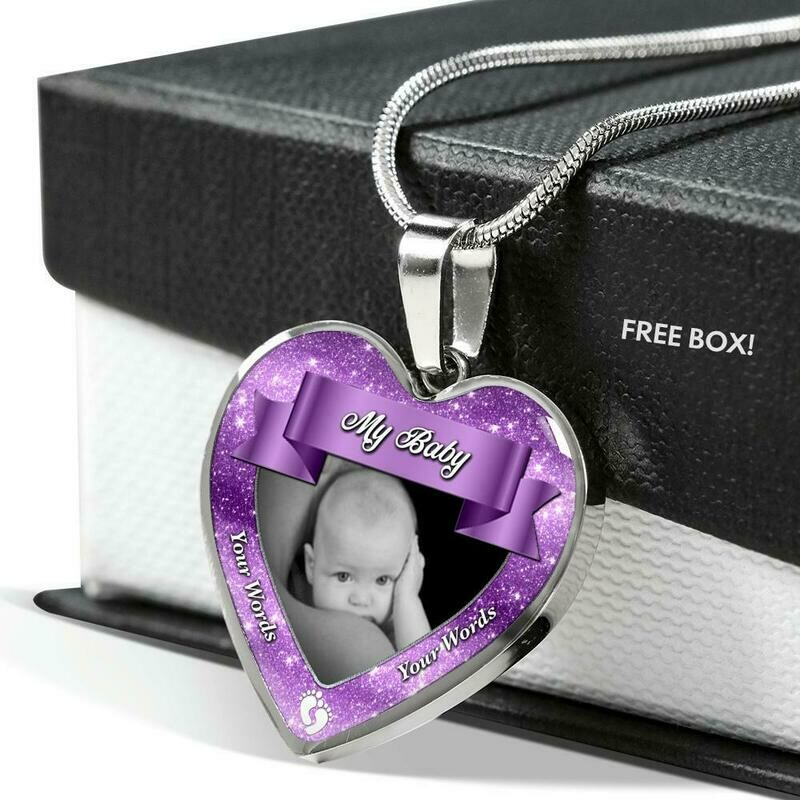 Send a Heart (Baby) - Custom Design Service Only