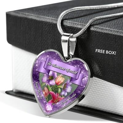 Send a Heart (Flower)- Custom Design Service Only