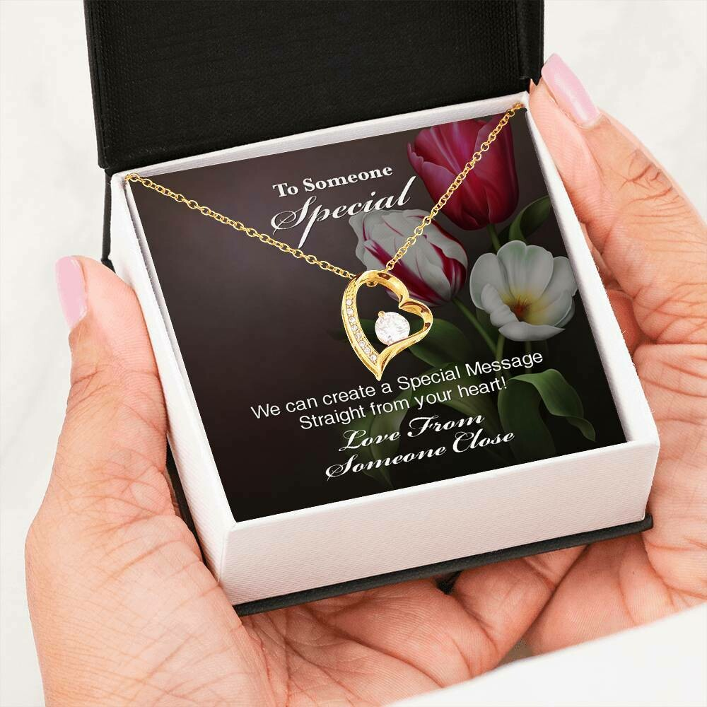 Send A Special Message Card (Forever Love) - Custom Design Service Only