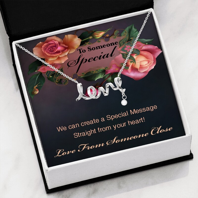 Send A Special Message Card (Scripted Love) - Custom Design Service Only