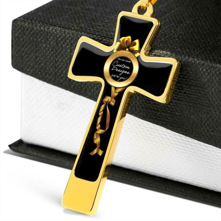 Luxury Custom Cross Necklace -  Design Service Only