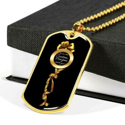 Luxury Dog Tag - Custom Design Service Only