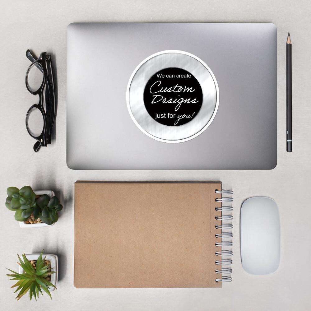 Bubble-free stickers - Custom Designed