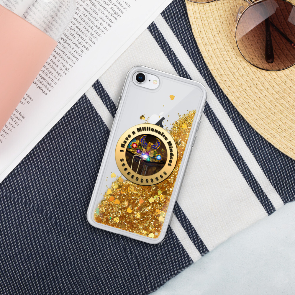 I have a Millionaire Mindset- Glitter Phone Case