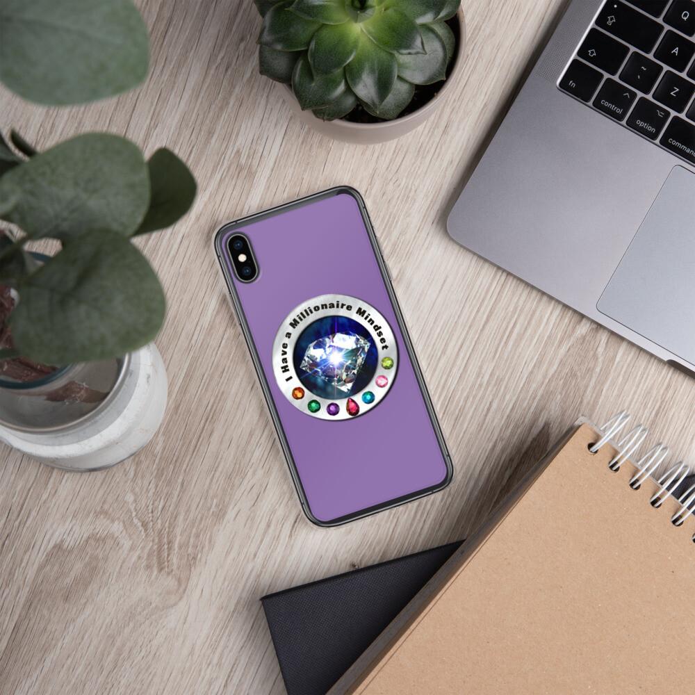 I Have a Millionaire Mindset (Diamond)- iPhone Case