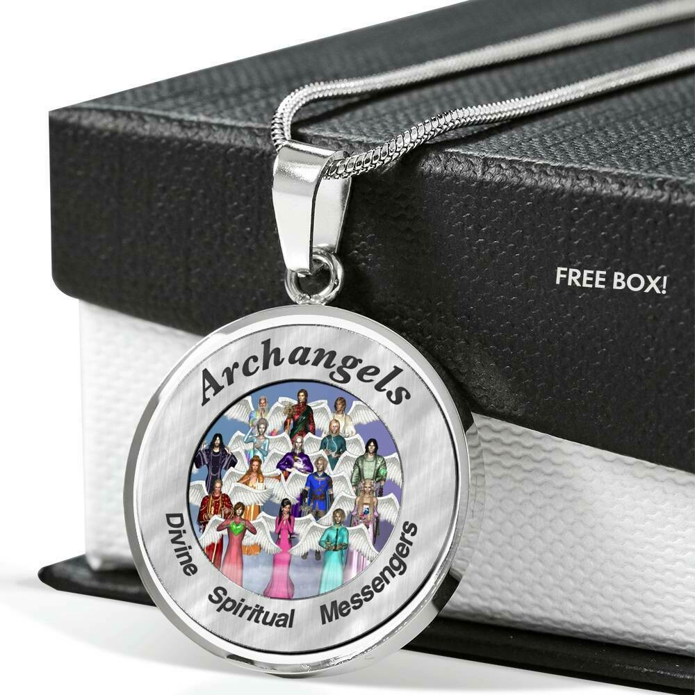 Archangels Circle Necklace