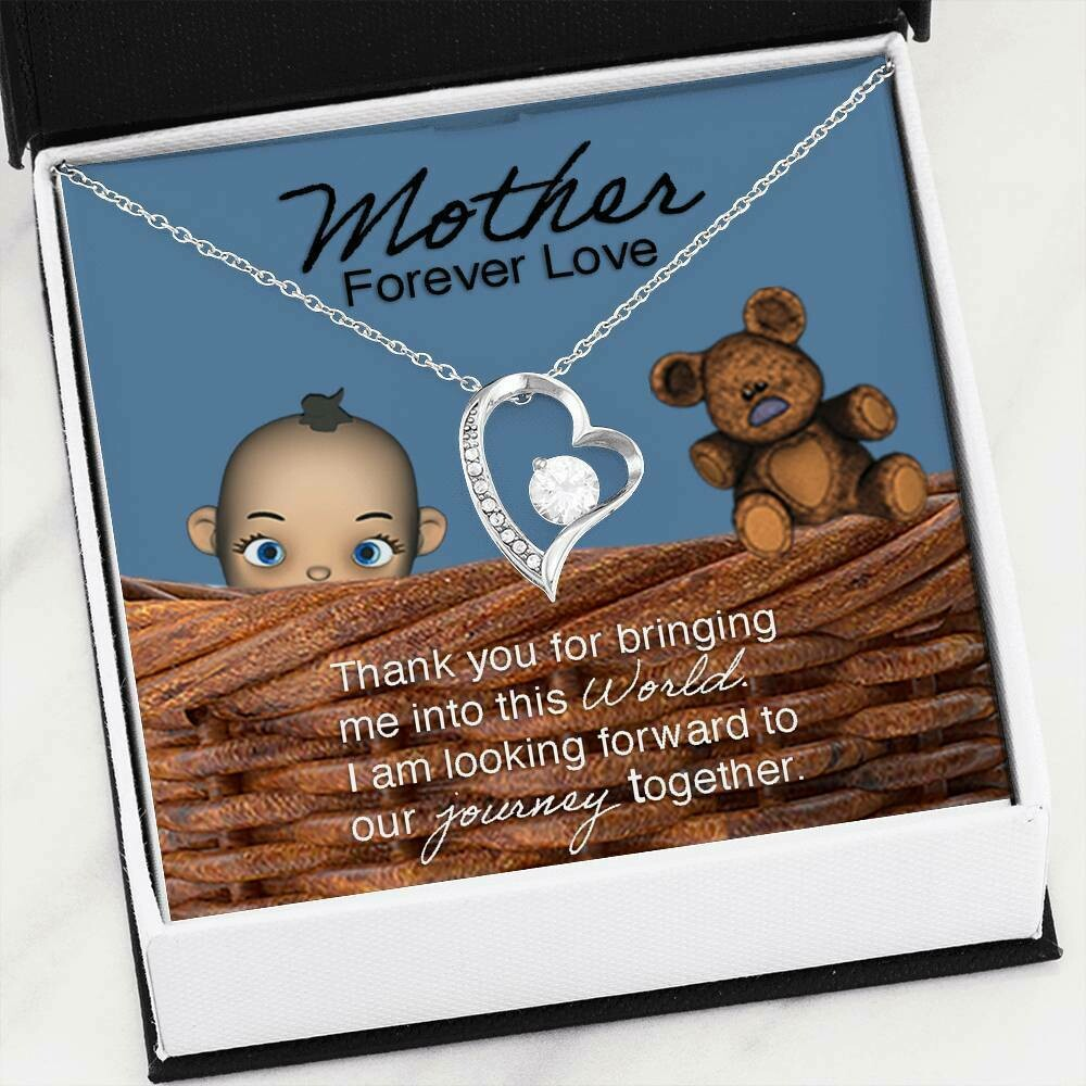 Mother Forever Love Necklace (Baby Boy)