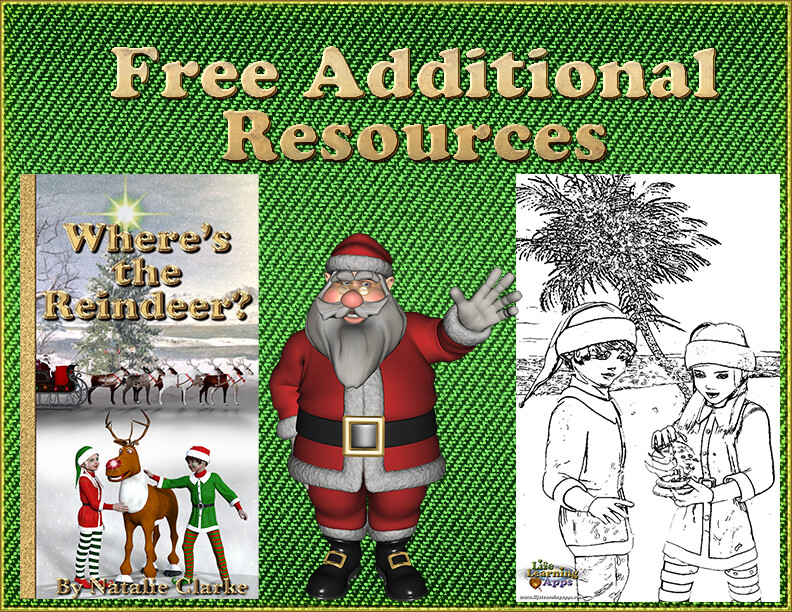 Where's The Reindeer-Free Additional Resources