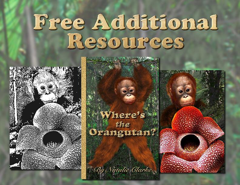 Where's The Orangutan - Free Additional Resources