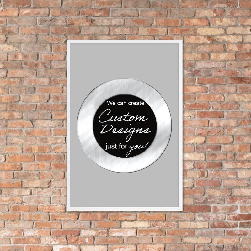 Framed poster - Custom Designed
