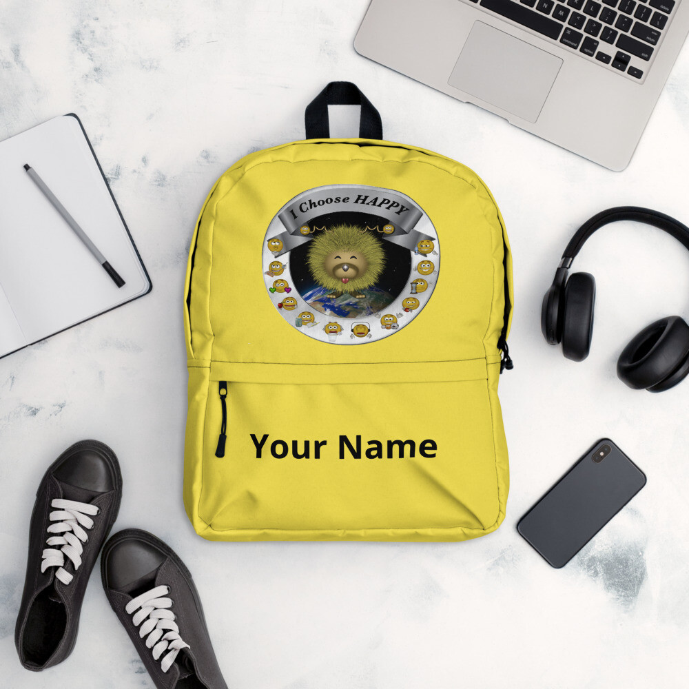 I Choose Happy Backpack