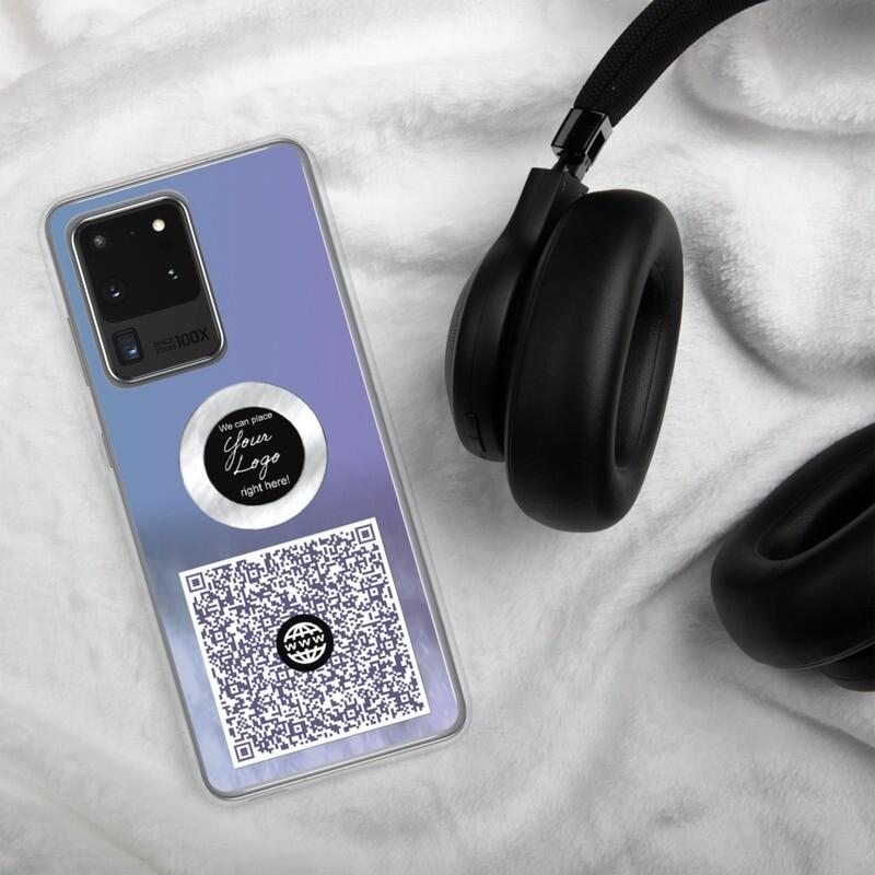 QR Code Samsung Case - Custom Designed