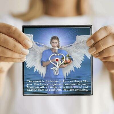 Send An Angel of Wellbeing (Nurses, Doctors and Health Care Workers)