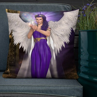 Angel Premium Custom Cushion- (60 Designs To Choose From)
