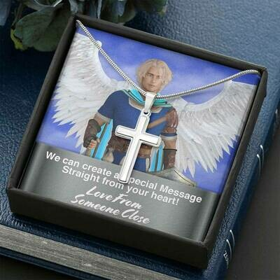 Send A Special Message Card (Cross) - Custom Design Service Only