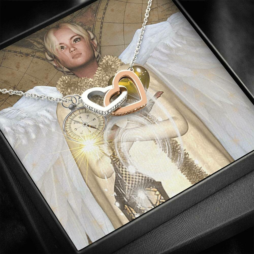 Send Special Message Card (Interlocking Hearts)- Custom Design Service Only