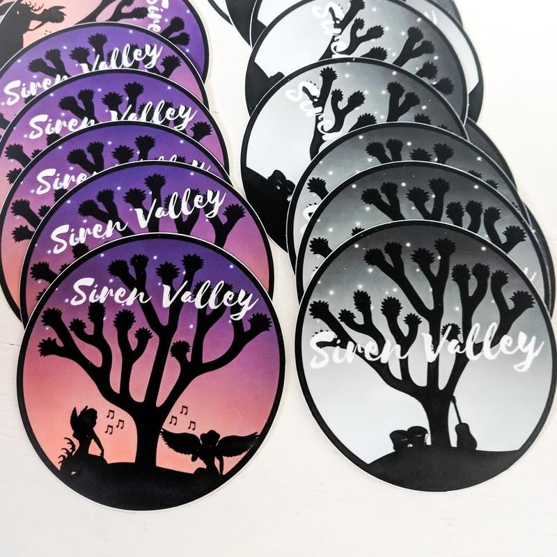 Siren Valley Sticker Duo