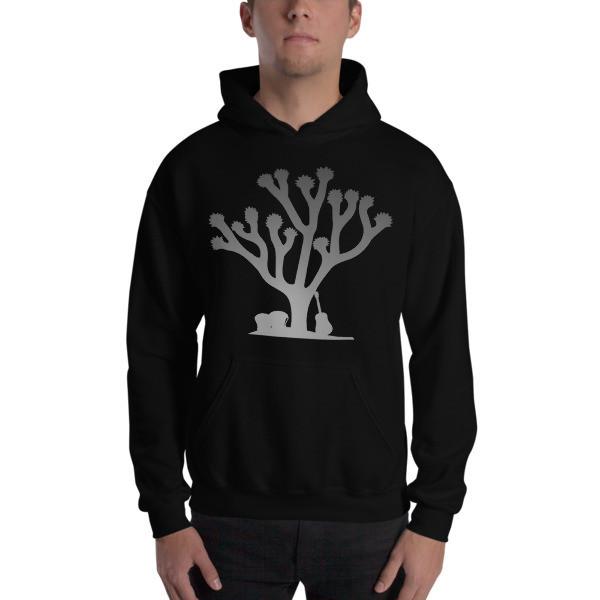 Siren Valley Grey Tree Hooded Sweatshirt