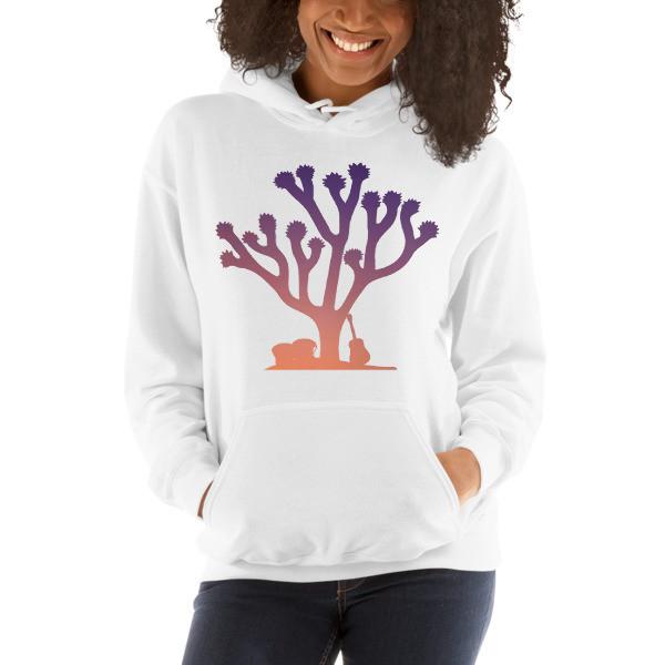 Siren Valley Sunset Tree Hooded Sweatshirt