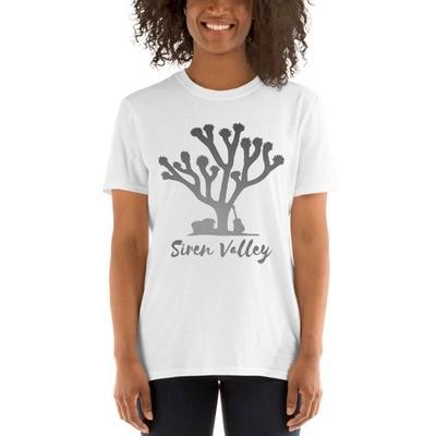 Siren Valley Grey Logo Short-Sleeve Unisex T-Shirt