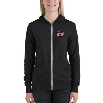 Siren Valley Logo Unisex zip hoodie