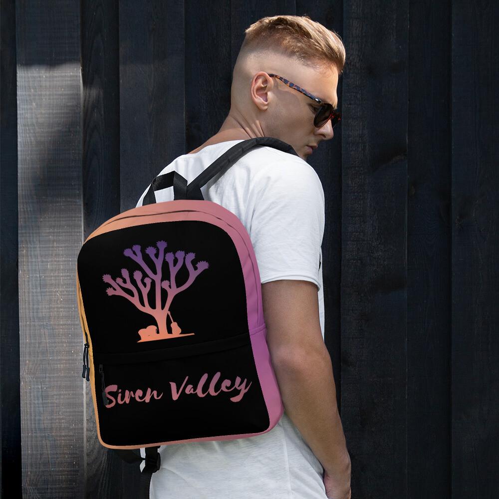 Siren Valley Logo Backpack