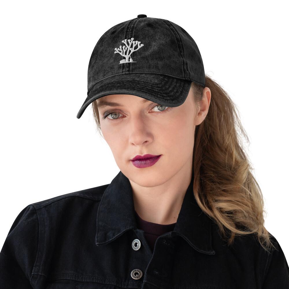 Siren Valley Logo Vintage Cotton Twill Cap