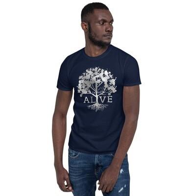 """""""Alive"""" Short-Sleeve Unisex T-Shirt"""