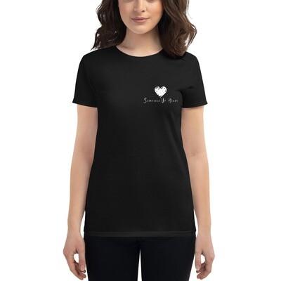 Scratched Up Heart Women's short sleeve t-shirt