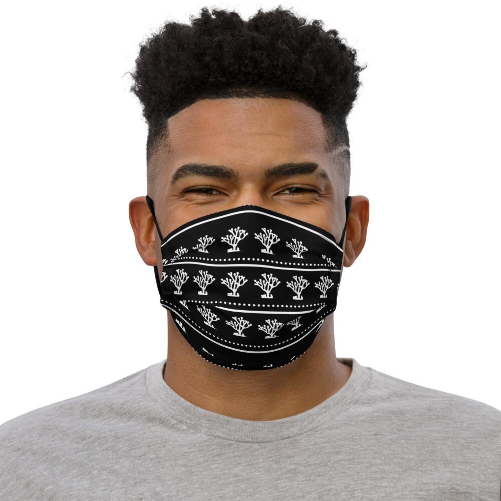 Siren Valley Logo Premium face mask