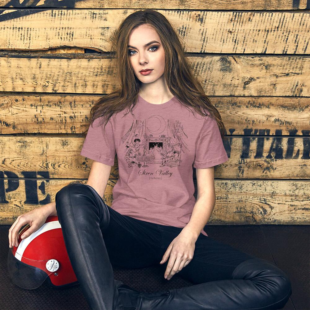 """Behave"" Short-Sleeve Unisex T-Shirt"