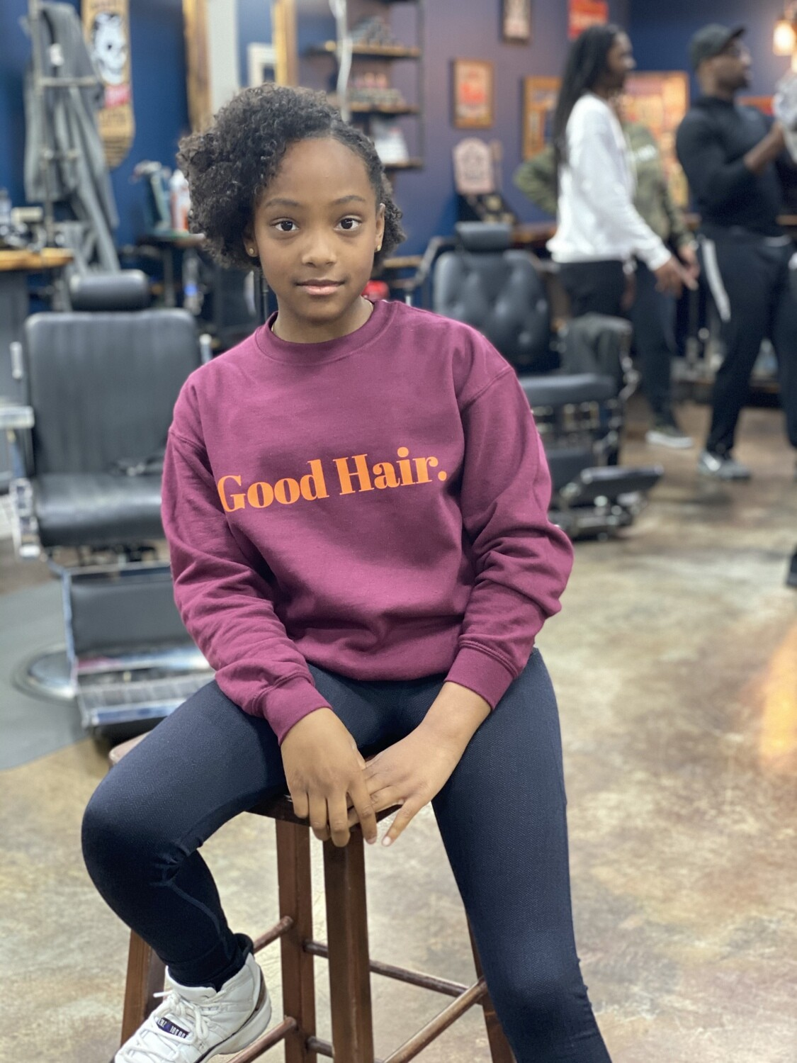Good Hair. Kids Sweatshirt