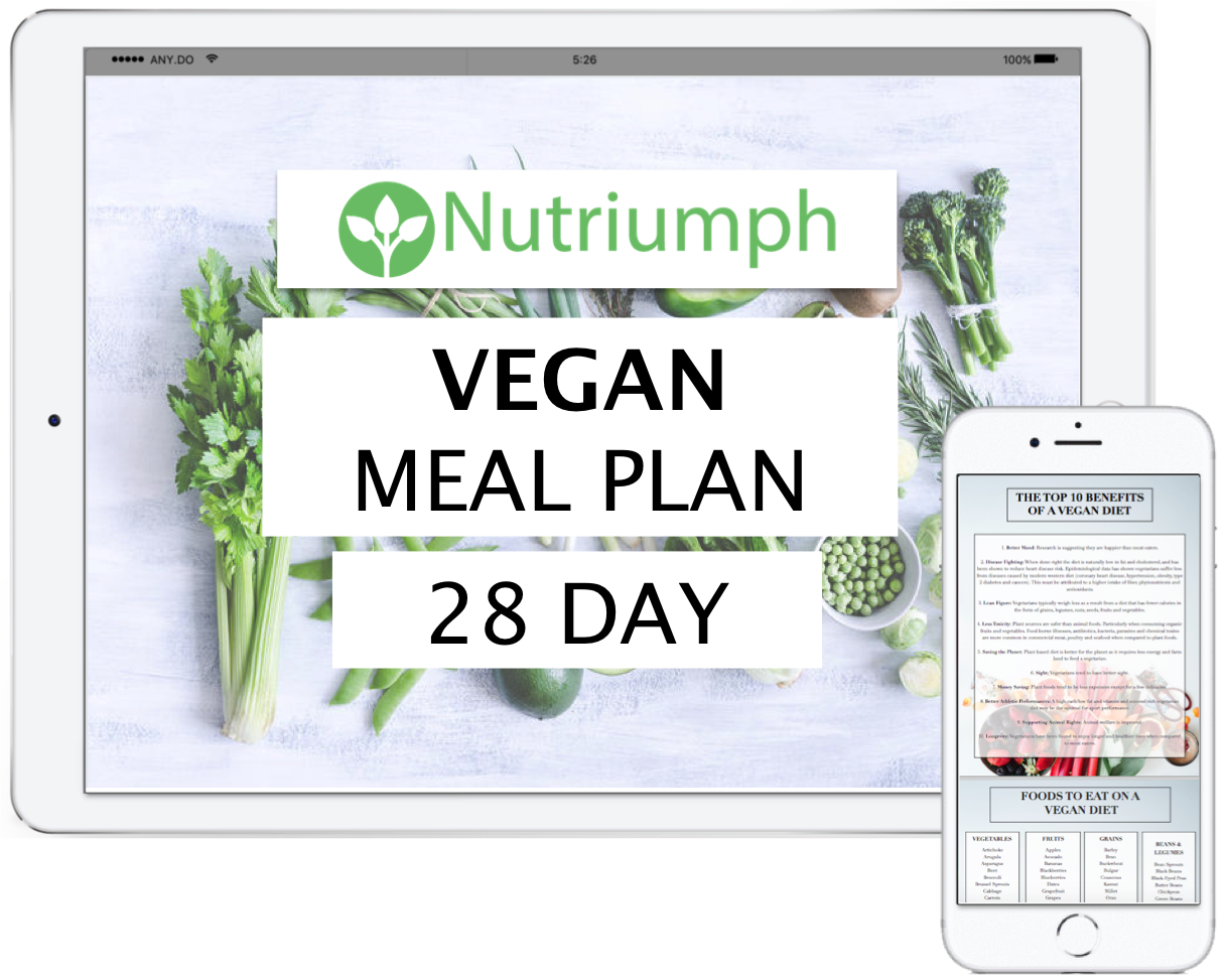 VEGAN - 28 DAY MEAL PLAN