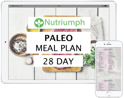 PALEO - 28 DAY MEAL PLAN