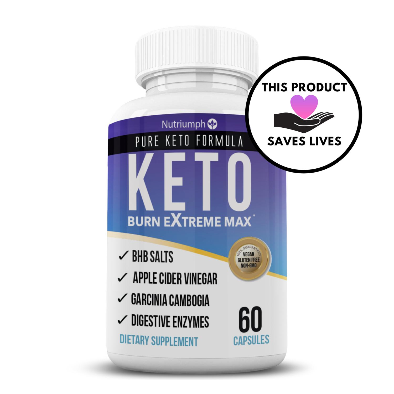 KETO BURN EXTREME MAX + FREE 28 Day Keto Meal Plan