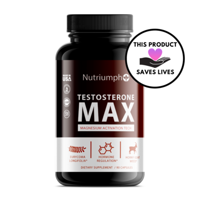 TESTOSTERONE MAX - Magnesium Activation Technology