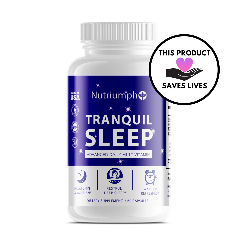 TRANQUIL SLEEP - Advanced Formula w/ Melatonin & Valerian