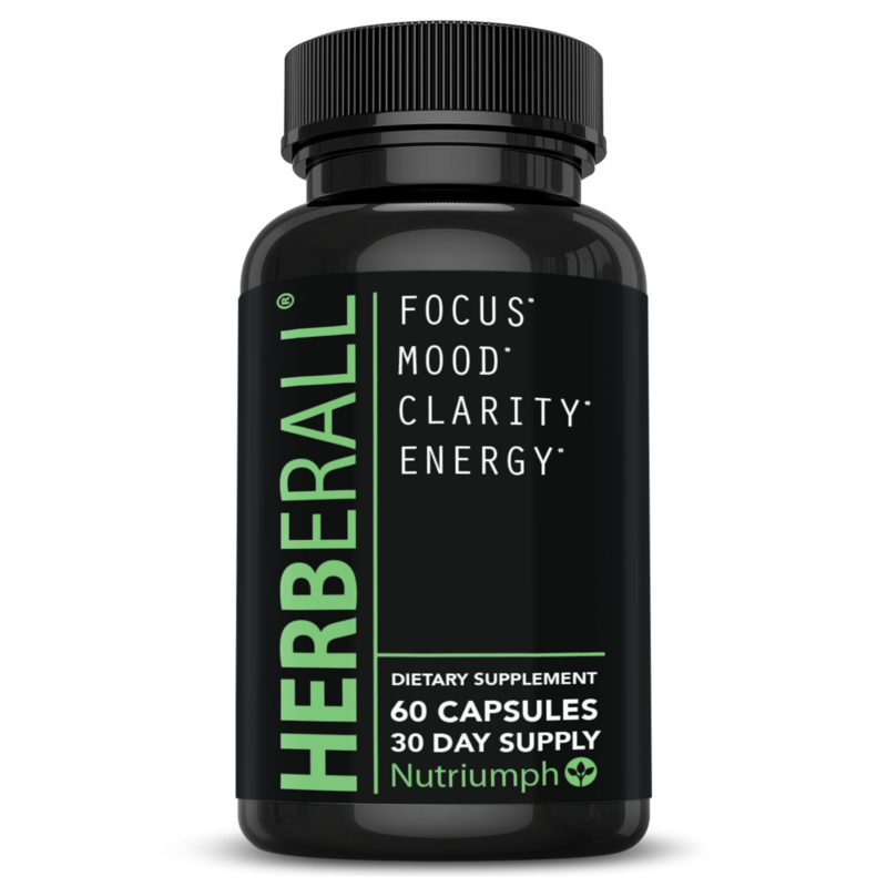HERBERALL® - Improve Memory & Concentration, Focus Brain Support