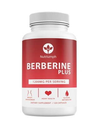 BERBERINE - Weight, Heart Health & Glucose Metabolism Support