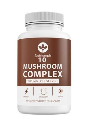 MUSHROOM COMPLEX - Focus & Energy