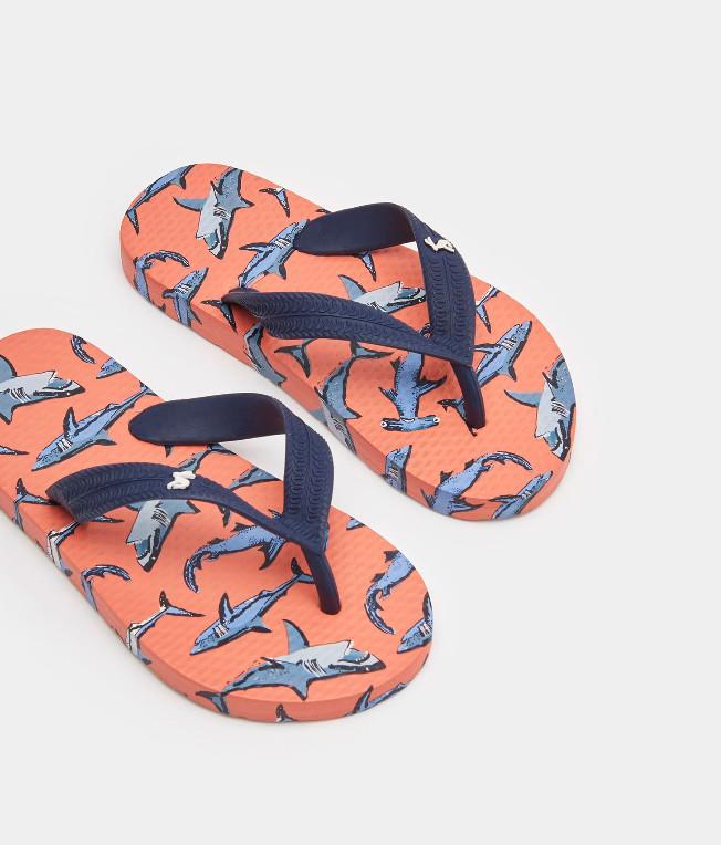 Shark Flip Flops -  10