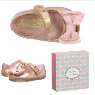 My 1st Mini Melissa Metallic Pink