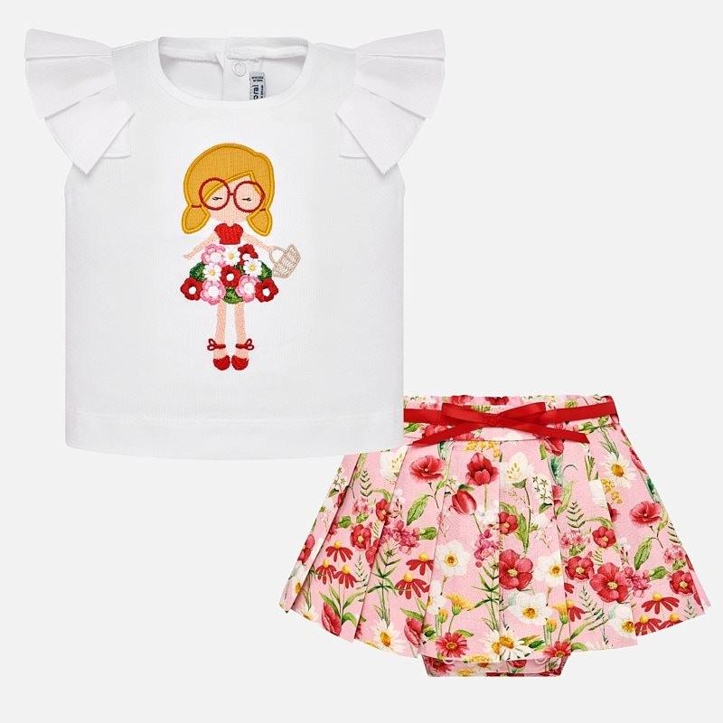 Floral Skirt Set 1948 -  12m