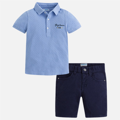 Polo & Shorts Set 3286C-6