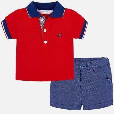 Polo Shorts Set 1215 6/9m