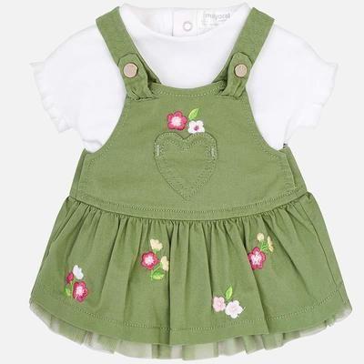 Denim Skirt Set 1842 4/6m
