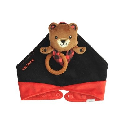 Brown Bear Buddy Bib